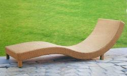 Stylish Pool Side Lounger