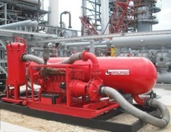 Minimac designs 6500 LPM Oil Flusher