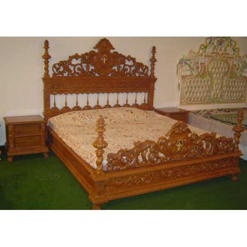 Antique Wood Designer Beds View Specifications Details Of
