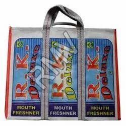D Shape Printed Canvas Bags