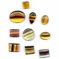 Fluorite Cabochon Stone