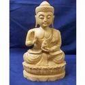 Wooden Chinese Loutas Buddha