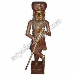 Wooden Antique Soldier