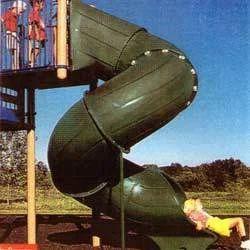 Tunnel Twister Slide