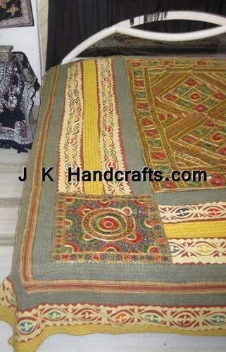 Applique Boho Style Bedspreads J K Handicraft Industries
