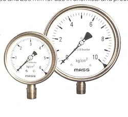 Mass Weather Proof SS Pressure Gauges