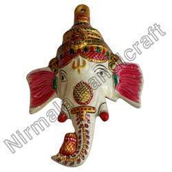Metal Ganesha Masks