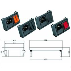 Rocker switch Socket Panels