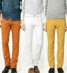 Men's Garments - Coloured Jeans Manufacturer & Wholesaler from New ...