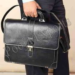 7f30abd4ceea Leather Office Bag - Executive Leather Bag Exporter from Mumbai