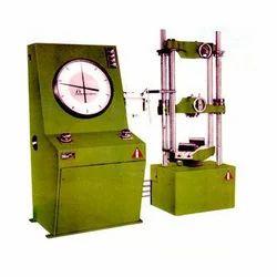 Yellow Round Laboratory CBR Apparatus