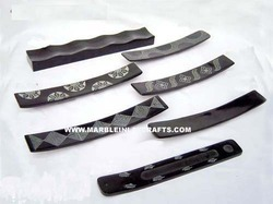 Black Soapstone Incense Holders