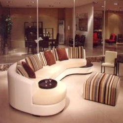 Rounded Office Sofa Set