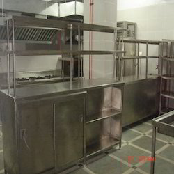 Furnished Steel Kitchen