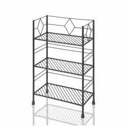 Wrought Iron Book Shelf