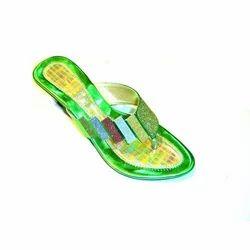 Colored Ladies Footwear