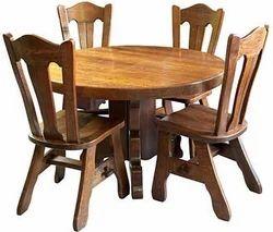 Merveilleux Sheesham Wood Dining Table Set