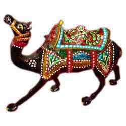 Metal Painted Camel