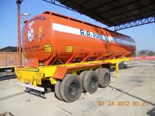 Oil Tanker Trailers - Oil Tanker Trailers 35 KL TATA 4018