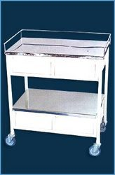 Medicine Trolley with 4 Drawer : USI-1057