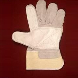 Chrome Canadian Pattern Gloves