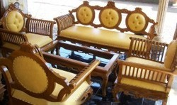 Wooden Sofa Set In Madurai Tamil Nadu Wooden Sofa Set