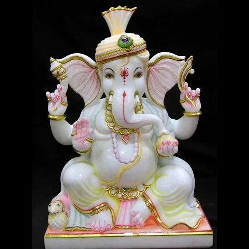 Ganesh Ji Statue Marble Ganesh Statue Exporter From Jaipur