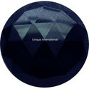 Dyed Blue Sapphire Round Cut Dyed Gemstone
