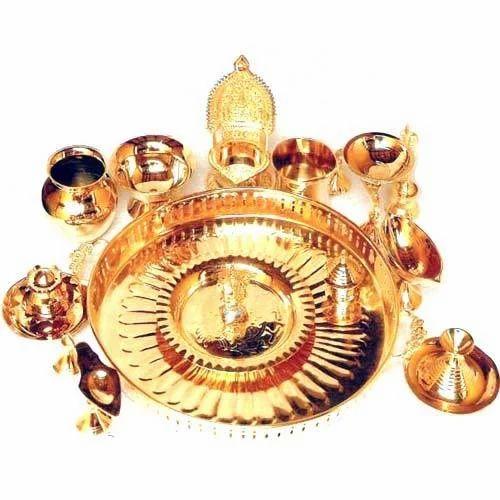 Hindu Pooja Gift Set