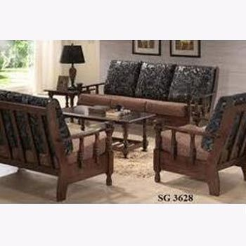 Superior Designer Wooden Sofa Set