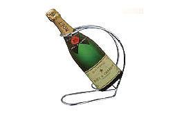 Steel Wine Bottle Holder
