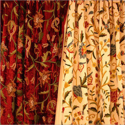 Embroidered Curtains At Best Price In India