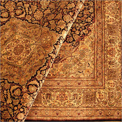 Hand Knotted Woolen Carpets Kashmir Mahal Exporter In