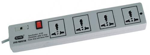 K-129 Universal 4 Socket Power Strip