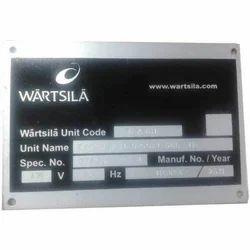 Engraved Metal Name Plates