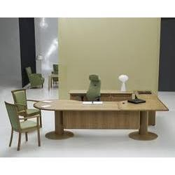 Executive Table and Storage Units