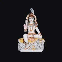 Divine Shiva Marble Statue