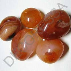 Polished Pebbles - Carnelian Red