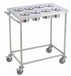Stainless Steel SGFKEPL Spices Trolley