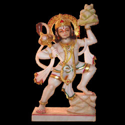 Exquisite Lord Hanuman Ji From Marble