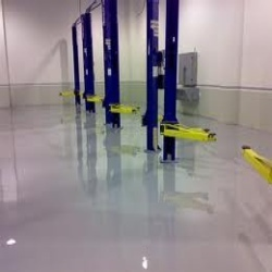 Corporate Building And Health Care Centre Self Levelling Flooring Service
