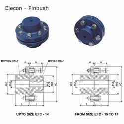 Pinbush Couplings Industrial Pinbush Coupling Wholesale Trader