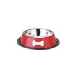 Metal Anti Skid Dog Bowls
