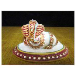 Tile Ganesh Statue