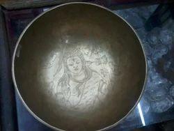 Tibetan Hand Made Singing Bowl Lord Siva