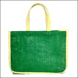 Coloured Jute Tote Bag