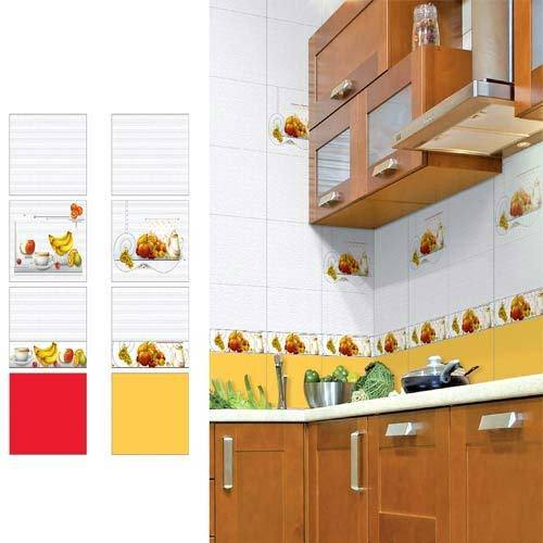 Luster White Kitchen Concept Wall Tiles