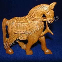 Sandalwood Carving Horse
