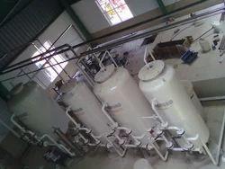 Semi-Automatic Mild Steel Water Softeners, Vertical
