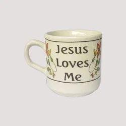 Ceramic Jesus Mug